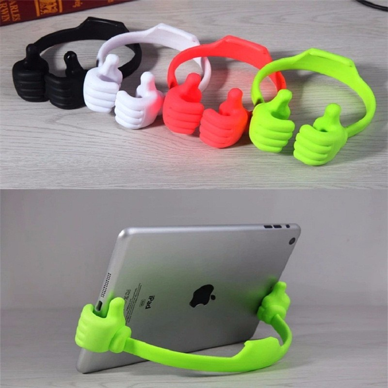 Hot-Selling-Adjustable-Thumbs-Stand-Car-Desktop-Holder-Mount-For-iPhone-Samsung-Tablet-PCs-free-shipping