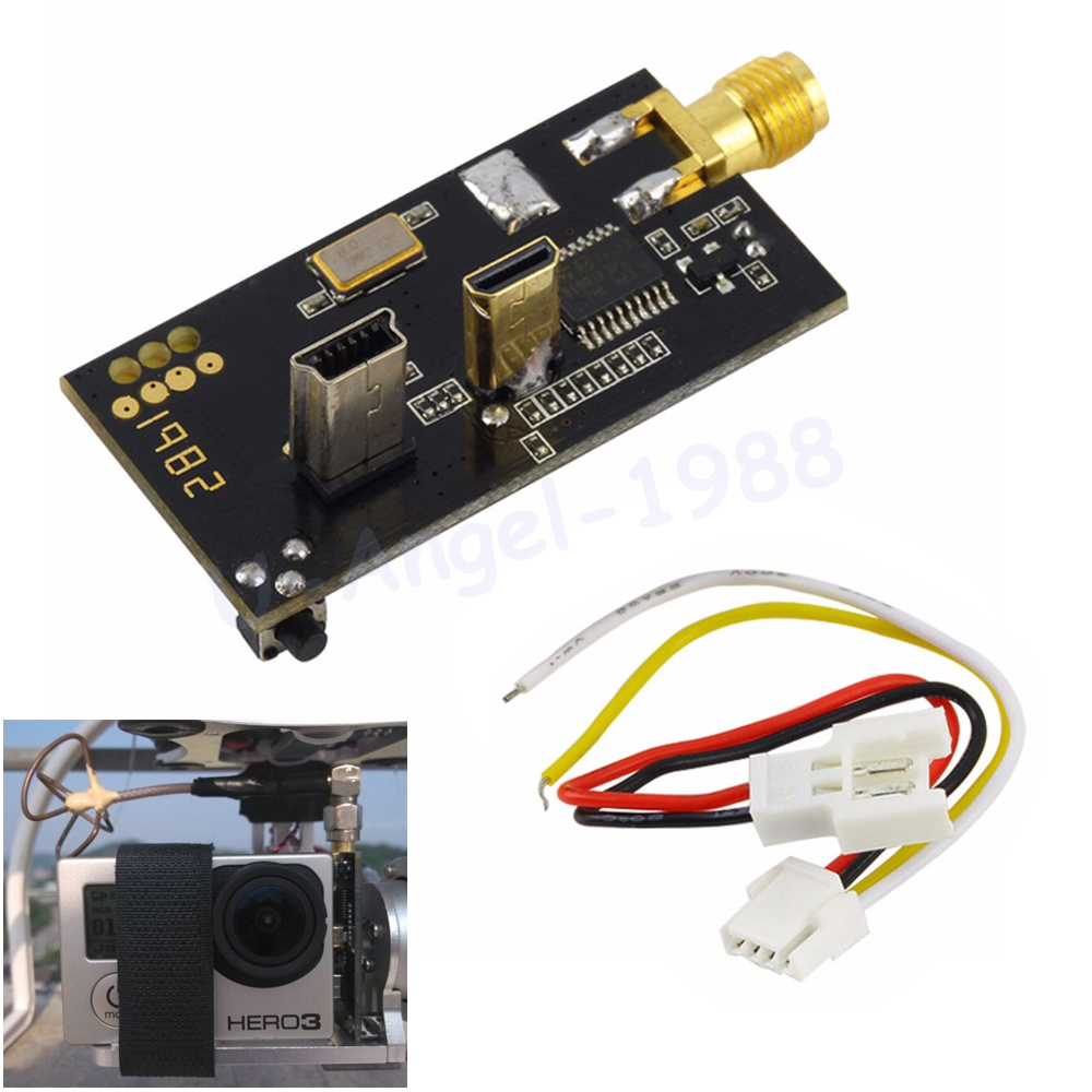 Wholesale 1pcs Light L250 5.8G 250mW VTX FPV Transmitter With Connecting Cable For GoPro 3 Drop free shipping<br><br>Aliexpress