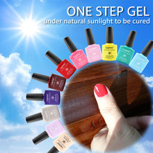 #51263 2017 CANNI Nail Art Design 7.3ml 29 Colors Sunlight one step 3 in 1 single phase UV gel nail polish