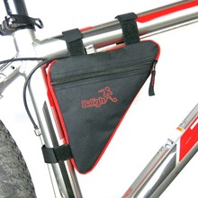 Buy Protabele Bicycle Bag Waterproof Triangle Cycling Front Tube Frame Bag Mountain Triangle Bag 4 Colors Bike Pouch Holder Saddle for $2.14 in AliExpress store