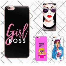 Tpwxnx милые забавные цитаты Girl Boss Чехлы Fundas для Galaxy Alpha Core Prime Note 4 5 8 S3 S4 s5 S6 S7 S8 S9 мини edge Plus(China)