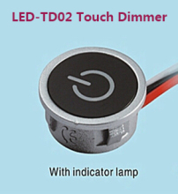Hot 3Way Dimmers, 12V Touch LED Dimmer For LED Lighting, Input 8Vdc~24V dc Constant Current Max. 700mA, 2017 New Hot