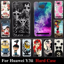 Hard Plastic Case For Huawei Y3II  Y3  2  Bag Back Color Paint Mobile Phone Cover Case Cellphone shell Skin Shipping Free