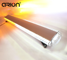 "CIRION 63"" 120W Waterproof Recovery Car Truck Work Light Bar Wrecker Flashing Beacon Emergency Strobe Lights Amber&White 12V-24V(China)"