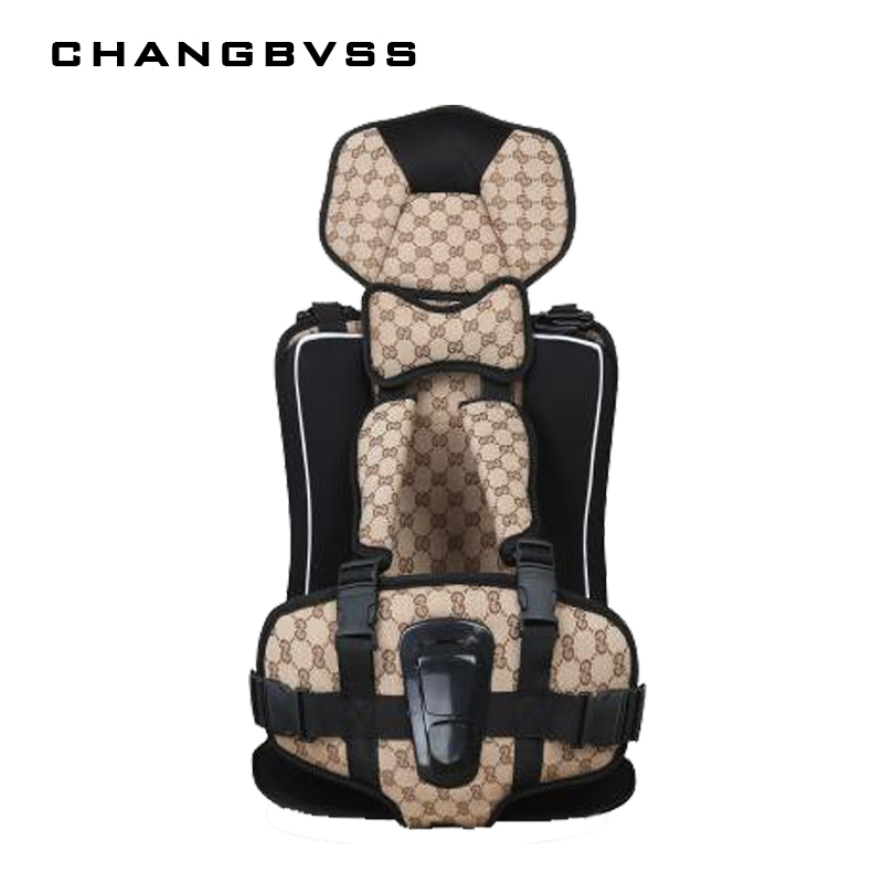 New Heighten Baby Car Child Safety Seat 1-12 Years Old Kids Protection Portable Child Safety Car Seat Baby Sitting Chair In Car<br>