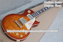 Wholesale and Retail Chinese Guitars LP Standard Sunburst Color & Unfinished Guitar or Body Available(China)