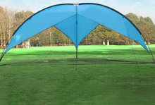 Outdoor Sun Shade Shelter Awning Tent Waterproof Anti-uv Durable Tents For Picnic Outing Beach Uitralight Single Layer