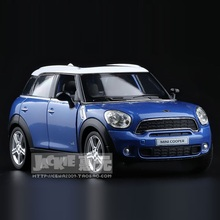 High Simulation Exquisite Diecasts&Toy Vehicles: RMZ city Car Styling MINI Cooper 1:36 Alloy Diecast Model Toy Car