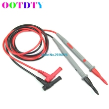 1 Pair Universal Probe Test Leads Pin 1000V 10A for Digital Multimeter Needle Tip Meter Multi Meters Tester Lead Probe Wire Pen