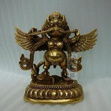 Copper Buddha statue, Buddhist supplies, Tantric, Garuda, Shakya Muni Guardian, the Roc bird, suparna, suparnin, buddha figure~