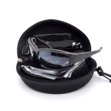 Outdoor Tactical Hunting X7 Desert Goggles Motorcycle Cycling 4 Detachable Lens Glasses