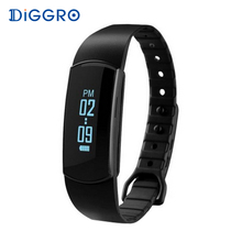 Diggro SH07 OLED Smart Bracelet Bluetooth 4.0 Sports Wristband Waterproof Pedometer Sleep Tracker Call Reminder For Android IOS(China)