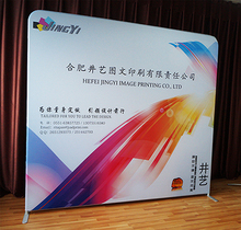 Custom Print Easy Display Tube Pop up Display Wall Banner Stand