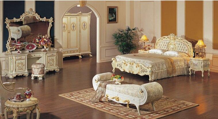 European Rustic Wood Dresser Bedroom Furniture Mirror Vanity Set White Dressers Makeup Vanities Guangzhou Factory