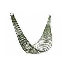 Portable High Quality Army Nylon Hammock Hanging Mesh Net Sleeping Bed Swing Outdoor Camping Travel