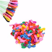 120 Water Balloons+120 Rubber Bands+1 Refill Tools Refill Pack Party Decor Supplementary Balloons Accessories Party Supplies