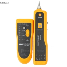 Kebidumei Sale RJ11 RJ45 Cat5 Cat6 Telephone Wire Tracker Tracer Toner Ethernet LAN Network Cable Tester Detector Line Finder(China)