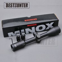 Minox 4.5-14x44 SF Hunting Rifle Scope Parallax Side Focus Tactical Riflescope Sniper Gear With Lens Cover(China)