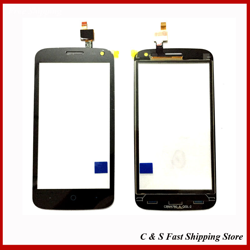 New OEM Touch Screen Glass Touch Sensor For ZTE Blade Q Lux / Qlux 3G 4G  Digitizer Replacement<br><br>Aliexpress