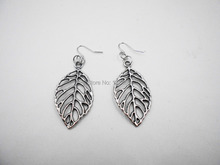 Alloy Series !Hot Sell New Fashion jewelry charm Vintage Big Leaf earrings for women * earings vintage handmade big fashion(China)