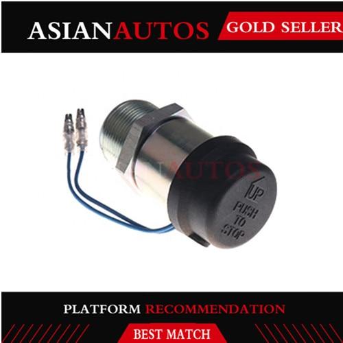 Fuel 30A87-00060 Shutoff Stop Solenoid 12V Fit Mitsubishi K3B K3E K4D S3L S3L2Y1