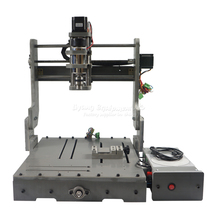 DIY 3040 3 axis mini hobby cnc router DC spindle 300W,do anything as you design(China)