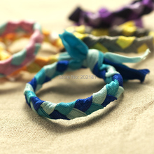 Can choose color candy colors Braids plaits Hairband Rope Ponytail Holder Elastic Hair Band Ties Emi Jay Like Hair Ties