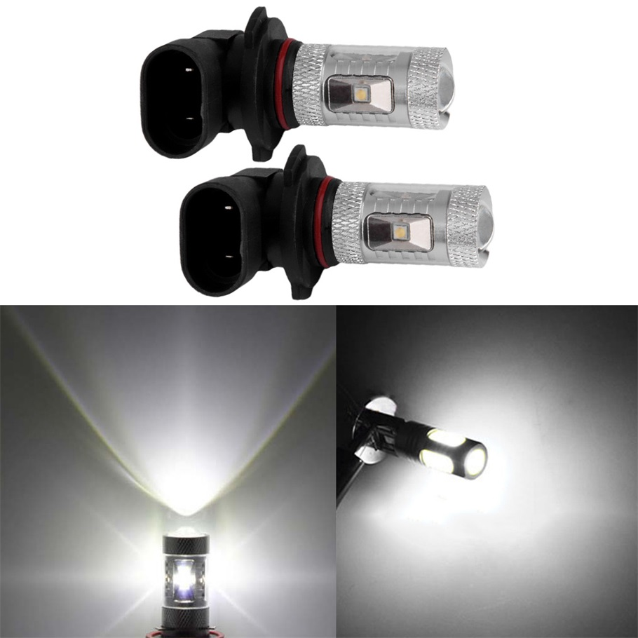 New 2pcs/lot  White 30W Xenon H10 Led Fog Light Driving DRL Lights Bulbs 9145 9140 7000K High Power  Wholesale<br><br>Aliexpress