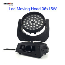 36x15W 5in1 RGBW LED Moving Wash Light With Zoom Dj  36x15w led zoom wash moving head light rgbwa 5in1 SHHZT-WZMH3615E Model