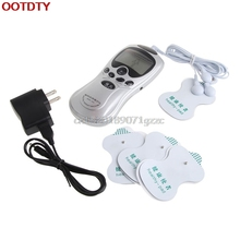Unit Body Slimming Massager Pulse Massage Electric Muscle Stimulator Health Care US plug #H027#