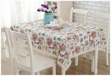 Free shipping Cotton Tablecloths Rectangular Table cloth Simple Tablecloth Happy Home Doilies Piano Cover cloth Sofe towel