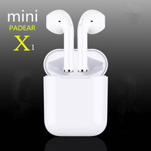 New Padear mini X ONE / I9S mini Bluetooth Headset Earbuds Air Pods Wireless Earphone Earbuds for Iphone Apple 6/7/8/PLUS x(China)