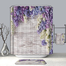 Polyester Impermable Tissu Salle De Bains Moderne 3D Cratrice Rideau Douche Sheer Panneau Dcor 12 Crochets Cuisine 30