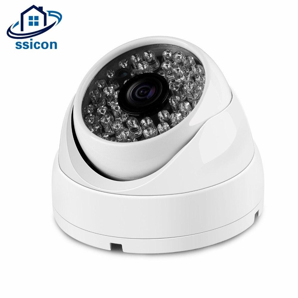 SSICON 48PCS IR Leds IP Camera White Metal IP CCTV Camera Indoor Security CCTV Camera<br>