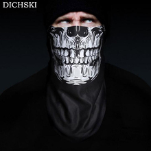 DICHSKI 2017 3D Printing Ski Cycling Winter Warm Protection Fleece Face Mask Snowboard Hood Balaclavas Scarf Cycling Equipment(China)