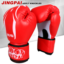 WHOLESALE 10OZ RED PU LEATHER ADULT PRETORIAN MUAY THAI TWINS BOXING PUNCHING GLOVES TKD MMA MEN FIGHTING BOXING GLOVES 3 COLOR(China)