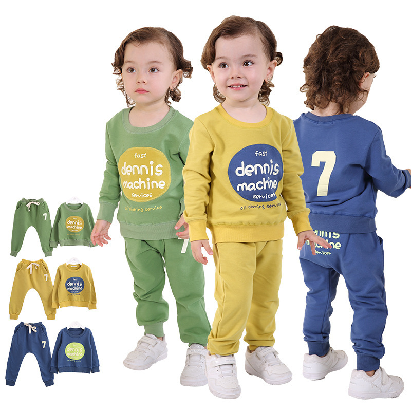 Anlencool 2017 Roupas Infantil Meninas Real Promotion Coat baby boy set  Spring Korean Childrens clothing Suit free Shipping<br><br>Aliexpress