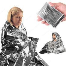 emergent blanket survive thermal tent mylar lifesave first aid kit treatment camp warm heat dry space foil bushcraft outdoor