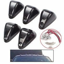 Brand New 5 set Smoked Lens Car Truck SUV VAN Cab Roof Top Marker Lamp Running Light Covers