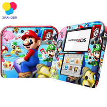 Mario Designs Vinyl Skin Sticker for 2DS Protector Cover Decal Vinyl Skin for Nintendo 2DS Skins Stickers For Nintendo Accessory(China)