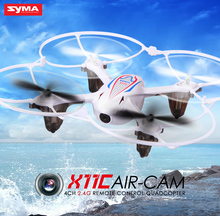Syma X11C RC Helicopter 4CH 2.4GHz Mini Aircraft Quadcopter with 2.0MP Camera HD Brush Motor Drone White,Black,Colors