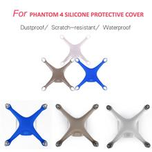Best Price ! new For DJI Phantom 4 Drone Waterproof Dustproof Scratchproof Silicone Protective Cover Case high quality may9