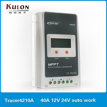 EPever 40A MPPT Solar Charge Controller Tracer4210A 40A 12V 24V auto work 100VDC input