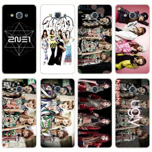 G1 2ne1 Star Group Transparent PC Hard Case Cover For Samsung Galaxy J 3 5 7 A 3 5 7 2015 2016 GRAND 2 PRIME