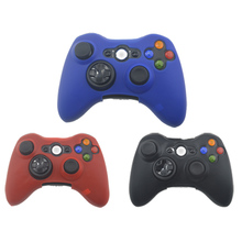 Silicone Skin Case Soft Protective Case Cover For XBOX 360 Game Controller Wireless Controller Silicone Game Accessories