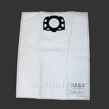 1 piece Vacuum Cleaner Bags Fleece Dust Filter Bag Replacement for Karcher MV4 MV5 MV6 WD 4 WD 5 WD 6
