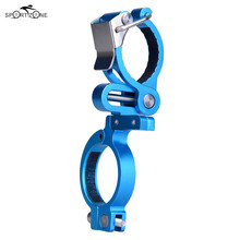 MTB Bicycle Grip Bike Mount Clamp Clip Holder With Flashlight LED Torch Lamp Cycle Light Handle Bar Handlebar Bracket Stand