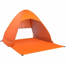 Outdoor 2-3 Persons Quick Automatic Pop up Instant Portable Cabana Beach Tent Camping Fishing Picnic Shelter for Beach Park drop(China)