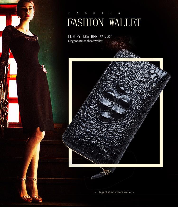 HTB1.HRUOFXXXXXoaXXXq6xXFXXX9 - QIWANG SEXY Women Wallets Crocodile Head and Tail Wallet Purse for Women Split Leather Alligator Pattern Long Wallet Women