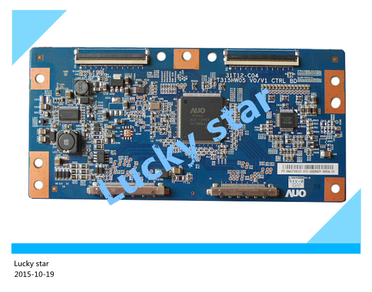 good working High-quality for original 99% new for T315HW05 V0/V1 CTRL BD 31T12-C04 t-con logic board 2pcs/lot<br><br>Aliexpress